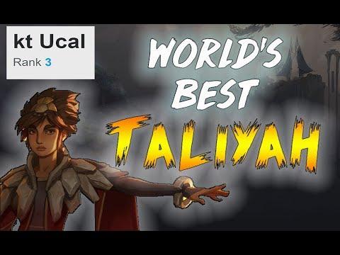 World's Best Taliyah | UCAL vs FAKER