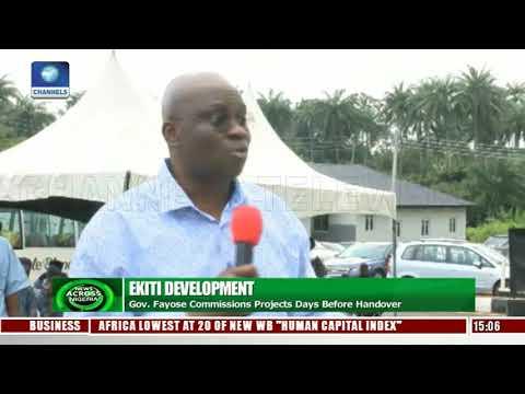 Ekiti Development: Fayose Commissions Projects Days Before Handover