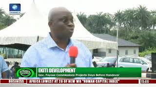 Ekiti Development: Fayose Commissions Projects Days Before Handover