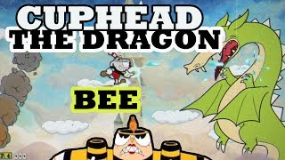 Cuphead - Dragão o chefe mais difícil e Abelha rainha