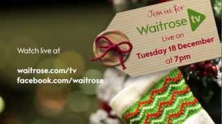 Waitrose TV Live Christmas trailer