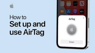 How to set up and use your AirTag - Apple Support