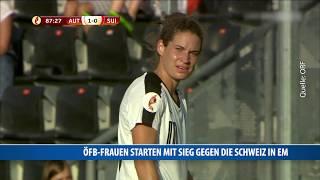 ÖFB-Frauen Starten Mit Sieg Gegen Schweiz In EM