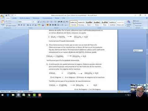 Balanceo de ecuaciones from YouTube · Duration:  13 minutes 7 seconds