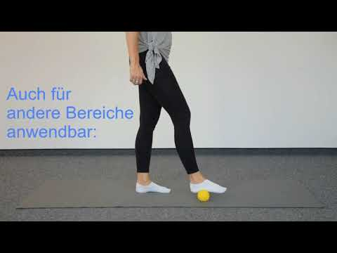 Faszientraining Teil 1 – Igelballmassage