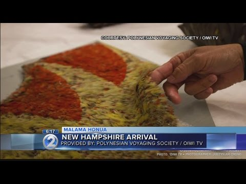 Hokulea crew gets behind-the-scenes look at New Hampshire museum