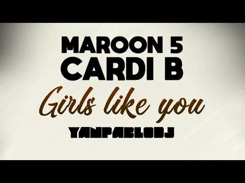 Yan Pablo DJ Maroon 5 e Cardi B - Girls like you FUNK REMIX