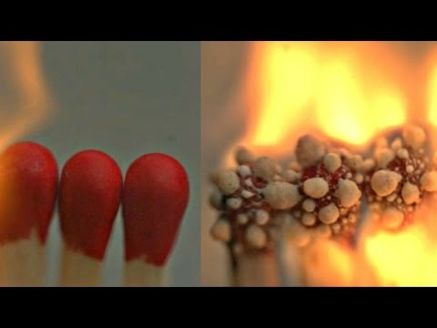 Thumbnail: Burning Matches in Slow Motion