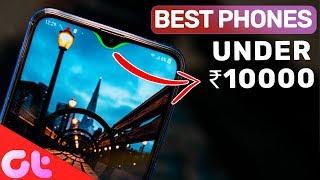 TOP 5 BEST PHONES UNDER 10000 to Buy in Feb 2019 | GT Hindi