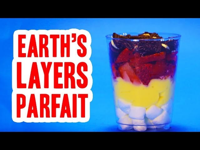 Earths Layers Parfait Food Science For Kids
