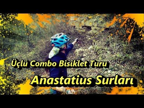 2017/04/14 Üçlü Combo Bisiklet Turu - 2. Bölüm (Anastatius Surları)