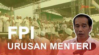 Reaksi Jokowi Saat Ditanya Soal SKT FPI - JPNN.com
