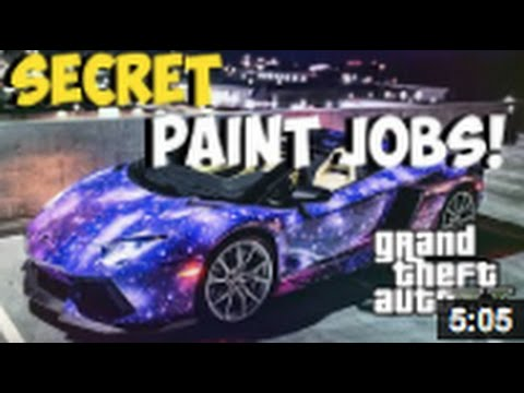 GTA 5 ONLINE -Best Paint Jobs GTA 5 Zentorno Customization ...