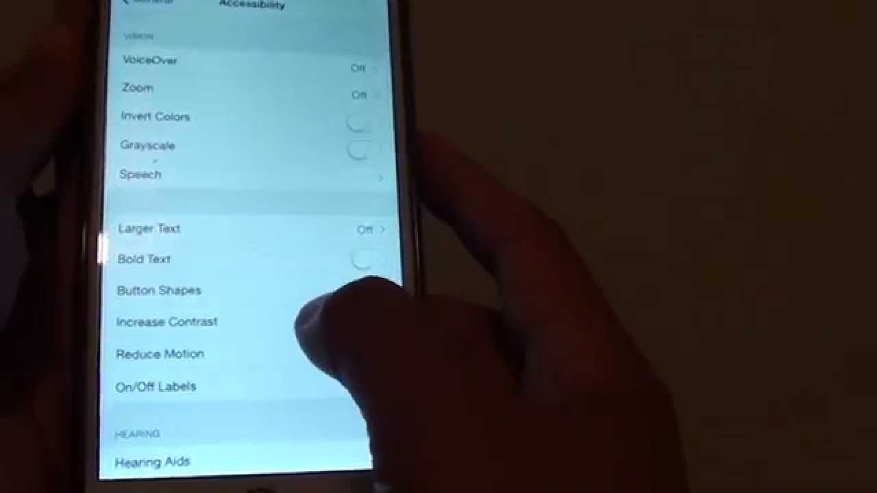 iphone 6 plus how to change screen contrast color - Colors For Iphone 6 Plus