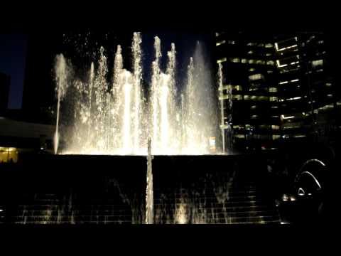 Water Fountain at Campus Martius Square, Detroit