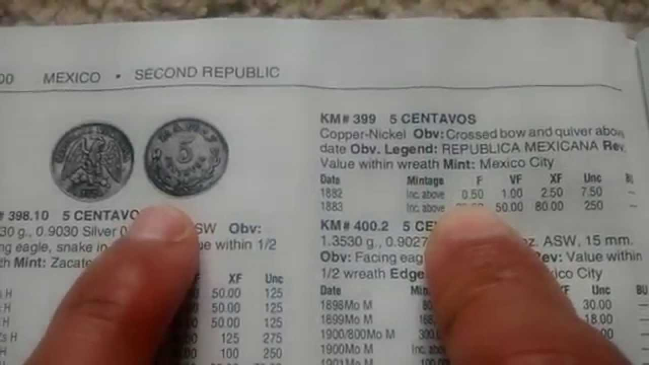 Moneda De 5 Centavos Y Su Valor Youtube