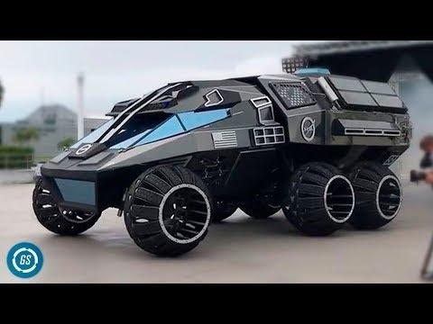 8 Increíbles Vehículos mas Avanzados del Mundo