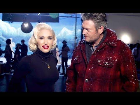 Gwen Stefani - You Make It Feel Like Christmas Ft. Blake Shelton (Behind The Scenes)