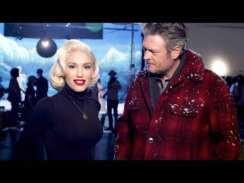 Gwen Stefani - You Make It Feel Like Christmas ft. Blake Shelton (Behind The Scenes)