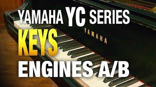 Yamaha YC Series Keyboard Engines A and B Layers and Splits.