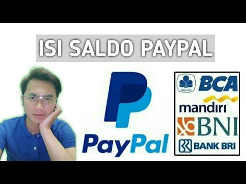 Cara Mengisi Saldo Paypal Melalui Transfer Bank, ATM, SMS Banking dan Internet Banking Pada video ka.