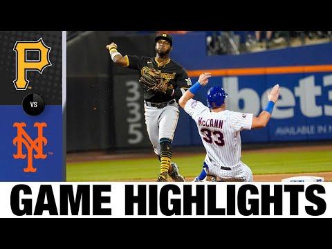 Pirates Vs. Mets Game 2 Highlights (7/10/21)   MLB Highlights