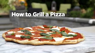 How to Grill a Pizza: In the Kitchen with David Venable