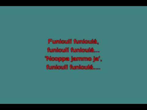 Funicul funicul… [karaoke]