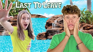 LAST TO LEAVE THE POOL CHALLENGE!