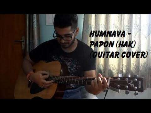Humnava | Humari Adhoori Kahaani | Papon | Guitar Cover | Kshitiz Verma