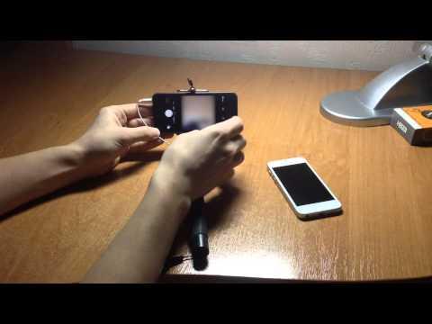 видеосъемка с монопода