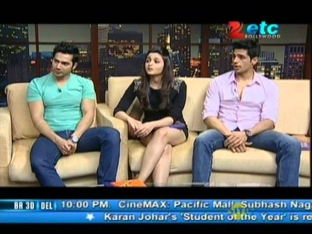 Alia Bhatt, Varun Dhawan & Sidharth Malhotra With Komal Nahta Travel Video