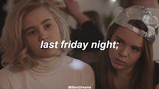 Skam ; last friday night (español)