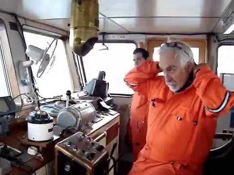 AHTS BG TIGER en el Estrecho de Magallanes