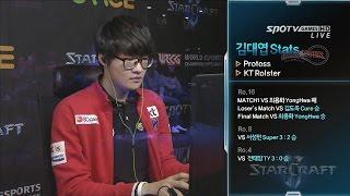 [WECG SC2 Korea National Final] Final Match set2 Stats vs herO Catallena -EsportsTV