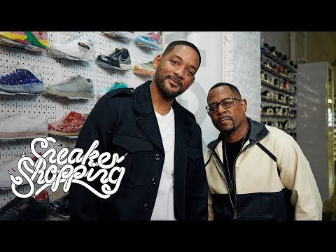 Promise - The Bizness Hourz - The Bad Boys Martin & Will go sneaker shopping with Complex! (Video)