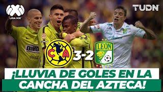 ¡Lluvia de goles! América derrota a León en un partidazo | América 3-2 León - CL2015 | TUDN