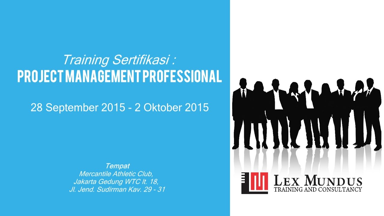 Project management professional - Teaser Training Project Management Professional