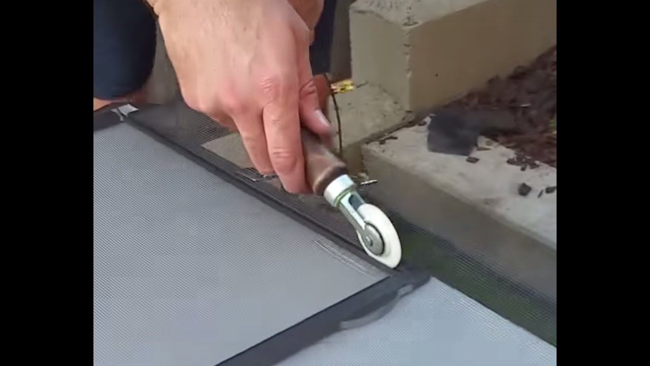 How To Replace Window Screen Mesh 5 Steps Of Repair