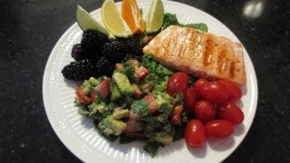 Ycmt-salmon With Strawberry Avocado Salsa (20 Minute Meal!)
