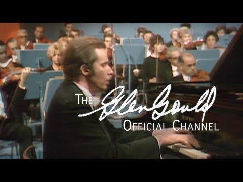 Glenn Gould - Strauss, Burleske in D minor OFFICIAL