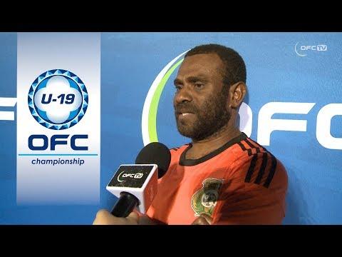 Post Match Interviews - Vanuatu v Fiji
