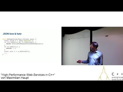"""High-Performance Web-Services mit C/C++"" von Maximilian Haupt"