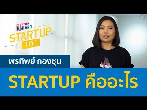 Startup 101 :  (1/5) STARTUP คืออะไร
