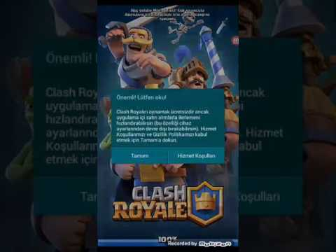 Clash Royale efsane hack