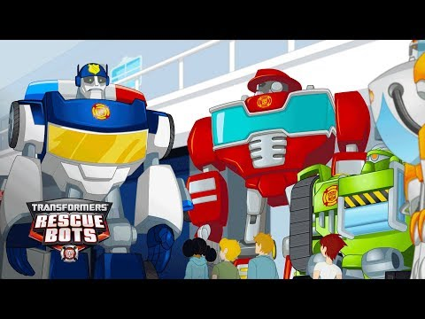 Transformers: Rescue Bots Season 4 -'Chase Running For Mayor?' Official Clip