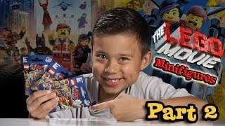 LEGO MOVIE MINIFIGURES!!! Box of Blind Bags Opening - PART 2