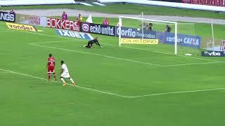 CRB 0x1 Vila Nova: Confira o golaço do meia Elias na vitória do Tigrão
