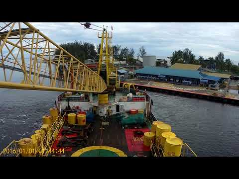 Big Vessel Off Hire  Proceed To Kuala belait.