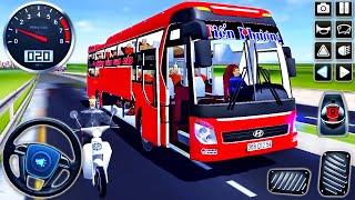 Otobüs Otobüsü Hyundai Tracomeco Sürüş - Otobüs Simülatörü Vietnam - Android GamePlay